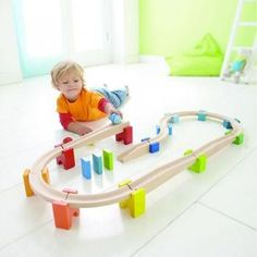 HABA My First Ball Track - Wooden Marble Run