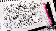Shark Boy - Hello Doodles - Easy and Kawaii Drawings by Garbi KW