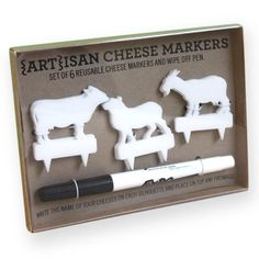 ARTisan Cheese Markers