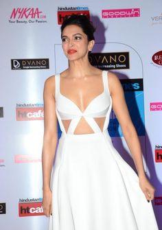 Deepika Padukone 2016 Very Hot Photos In White Dress - Bollywood Stars