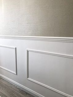 I have put together this simple 'how to' tutorial to show you how you can easily add panelling in your home! Modern Wall Paneling, Stair Paneling, Living Room Panelling, Wall Panelling, Bedroom Wall Designs, Hallway Designs, Family Room Decorating, Hallway Decorating, Wall Molding