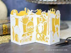 Starwars Birthday Card, Free Birthday Card, Star Wars Birthday, Paper Lantern Lights, Paper Lanterns, Star Wars Art Projects For Kids, Star Wars Party Decorations, Star Wars Crafts, Lantern Designs