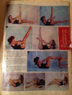 8: Stomach - Single Leg (100 Pulses each leg), 9 -10: Stomach - Double Leg (100 Pulses)