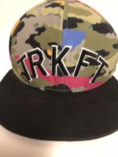 Trukfit Hat Snapback Cap By Lil Wayne TRKFT Trucker Patch Colorful Camo 1c8552b6f4c7