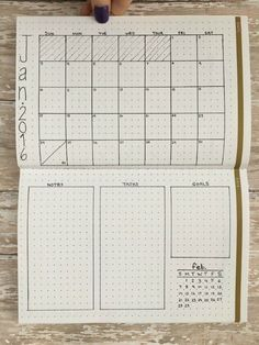 Vertical Twist #monthlyspread