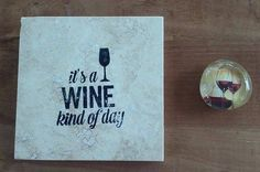 Wine Coaster and Magnet Set - Birthday Gift - Christmas Gift - Wine Lover Gift by PickadillyGarden on Etsy