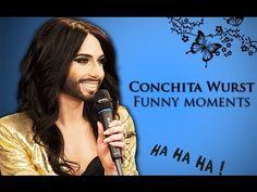 ▶ Funny Moments Compilation - Conchita Wurst - YouTube