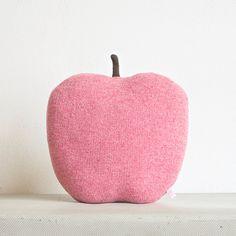 Apple shaped cushion/soft toy