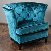 Princeville Tufted Arm Chair by Home Loft Concept  2 reviews $439.99 Found it at Wayfair - Princeville Tufted Arm Chair