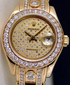 Diamond Rolex Watch. Urban Sassy.