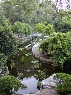 Zilker Garden, Austin, Texas