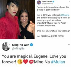 Can we take a minute to appreciate the queen we call Eugene<<< yes absolutely but also ITS THE CAVALRY Tumblr Funny, Funny Memes, Hilarious, Jokes, Eugene Lee Yang, Melinda May, Try Guys, Faith In Humanity, Good People