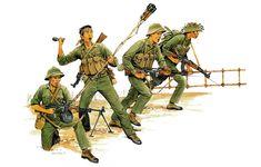 40k Armies, Military Art, Military Uniforms, Jungle Theme, Korean War, Vietnam War, Special Forces, Cold War, Warfare