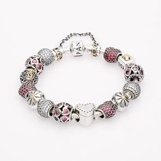 A Gift From The Heart Completed Bracelet By PANDORA Jewelry