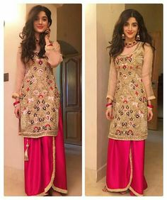 All eyes on #MawraHocane in this vibrant outfit by #Gulwarun ♥♥♥ #PanjabiKudi #Gorgeous #Beautiful #Cute #Pretty #Adorable #PakistaniCouture #PakistaniActress