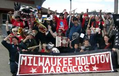 Milwaukee Molotov Marchers and Forward! (Madison)