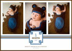 1 Month Birthday Photos