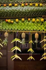 Kerala india wedding nanditabrice destination wedding image result for kerala wedding entrance banana and coconut decoration junglespirit Image collections
