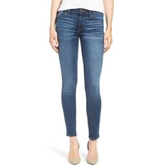 Designed to help you look slim and trim, these streamlined skinny jeans are…