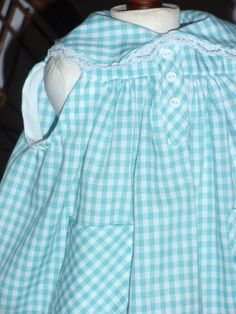 1870s Anne of Green Gables School Pinafore Apron for American Girl Kirsten 18 inch doll on Etsy, $17.00