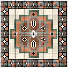 Xmas Cross Stitch, Cross Stitch Borders, Modern Cross Stitch, Cross Stitch Charts, Cross Stitch Designs, Cross Stitching, Cross Stitch Embroidery, Boho Tapestry, Tapestry Crochet