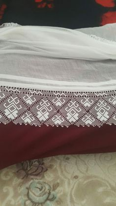 Needle Lace, Bed Pillows, Pillow Cases, Lace, Pattern, Embroidery, Pillows