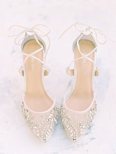 To go with your custom couture wedding gown - how about handmade shoes aren't these Bella Belle Shoes beautiful.  #WeddingShoes #WeddingFashion #Bride #WeddingInspiration