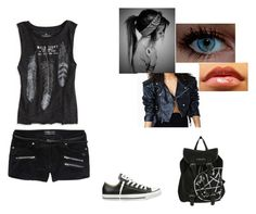 """""""Untitled #283"""" by hannahbanana45 ❤ liked on Polyvore featuring American Eagle Outfitters, Scotch & Soda and Converse"""