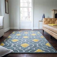 For the guest room? Loloi Rugs Brighton Grey / Gold Rug