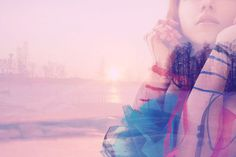 Daily Emo Fix // Double Exposure Effect in Photoshop. #photography tips