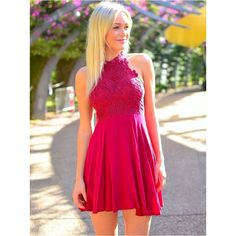 8th grade Lace Chiffon Modest Homecoming Dresses High School Halter Graduation Dress Custom Made vestido De formatura Prom