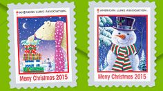 FREE 2016 Christmas Seals Stickers on http://www.icravefreebies.com/