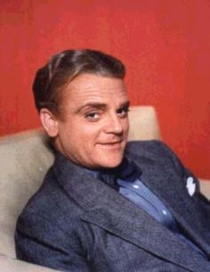 James Cagney.....feisty little Irishman, but what a great talent. There'll never be another like Jimmy Cagney!!