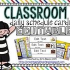 This is a pack of schedule cards that will fit into a pocket chart. These cards contain boardmaker images to help students understand each section ...