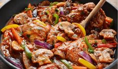 Cookbook Recipes, Meat Recipes, Chicken Recipes, Cooking Recipes, The Kitchen Food Network, Greek Cooking, Greek Recipes, How To Cook Chicken, I Love Food