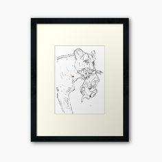 Lion Cub, Framed Prints, Art Prints, Original Art For Sale, Cubs, Fine Art America, Art Drawings, Gallery Wall, My Arts