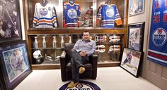"""Fort McMurray Wayne Gretzky collector saved jerseys, but no longer so keen on hobby. EDMONTON — He saved precious hockey memorabilia from the flames, but one of Canada's biggest sports collectors says the Fort McMurray fire may have cost him his hobby. """"I don't know that collecting means as much to me anymore,"""" said Shawn Chaulk, who was once referred to as the Wayne Gretzky of Wayne Gretzky collectors. Chaulk's collection is prodigious."""