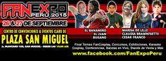 LIMA VAGA: El Bananero y otros youtubers te invitan a ir al F...