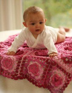 15 Free Crochet Baby Blanket Patterns | 101 Crochet