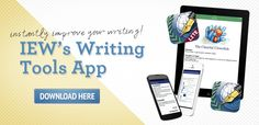 IEW's Writing Tools App