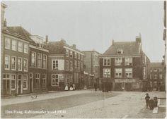 Kalvermarkt..Den Haag rond 1900.