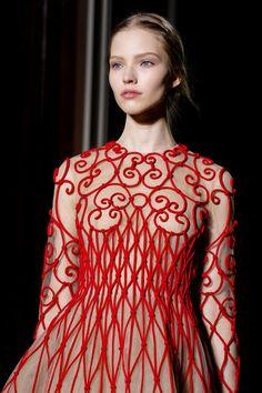VALENTINO   ... .....Paris Haute Couture Collections Spring/Summer 2013: Valentino