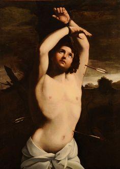 Guido Reni, Saint Sebastian, 17th century