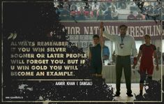 Amazing quotes from Aamir Khan's 'Dangal' movie designed by Social Media & GFX Designer Rajeev Mehta . Contact me @ info@Rajeevmehta.in