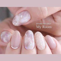 Art Nails – My hair and beauty Asian Nail Art, Asian Nails, Minimalist Nails, Bridal Nails, Wedding Nails, Cute Nails, Pretty Nails, Hair And Nails, My Nails