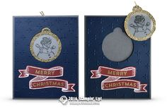 SNEAK PEEK: Super cool 2 in 1 Tag Ornament Card from the Holiday Catalog Tami…