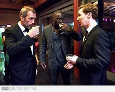House, Luther, & Sherlock <3