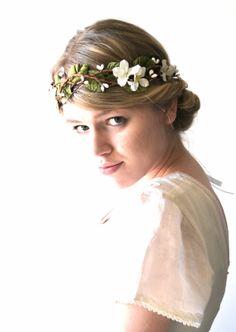 Woodland Wedding hair accessory Bridal hair by hazelfaire on Etsy, $88.00