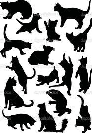cat silhouettes - Google Search