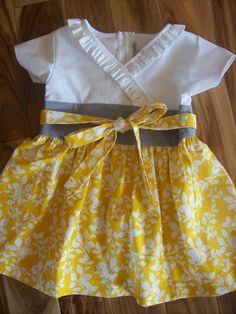 So cute! Love the colors!  My children will wear lots of yellow.